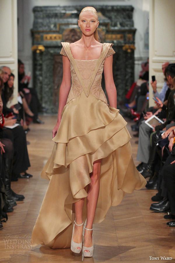 Primavera tony ala Verão de 2014 costura vestido de manga Curta saia assimétrica