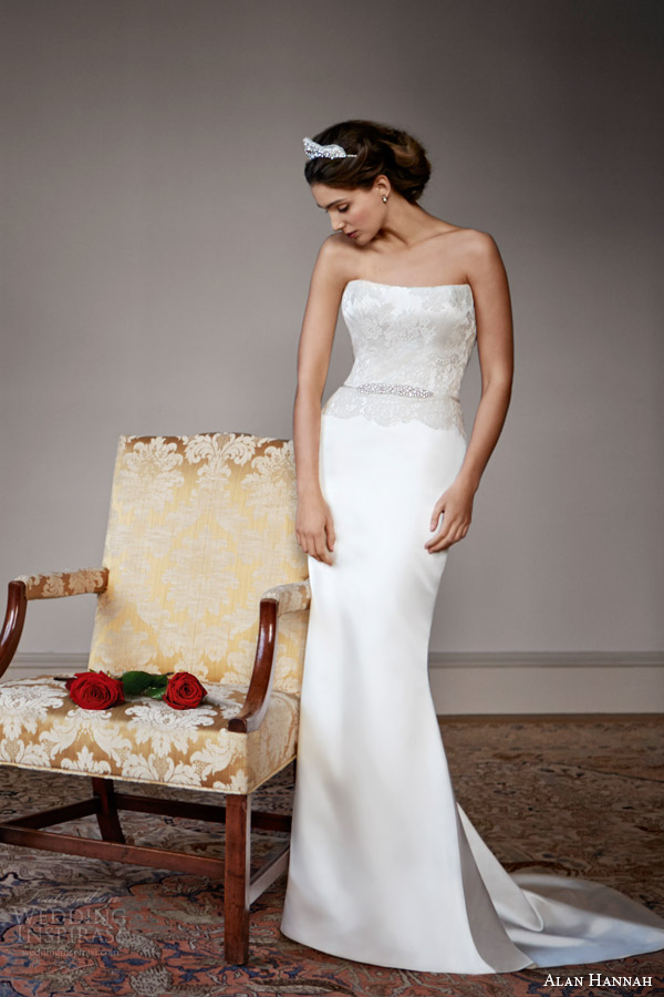 Alan Hannah 2014 Wedding Dresses Timeless Beauty Bridal
