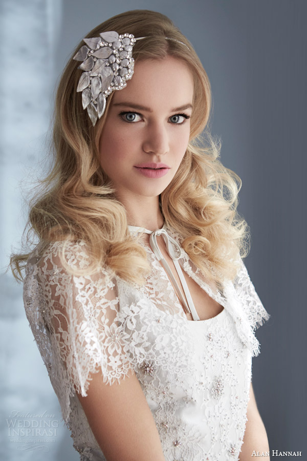 Alan hannah 2014 wedding dresses timeless beauty bridal for Angel wings wedding dress