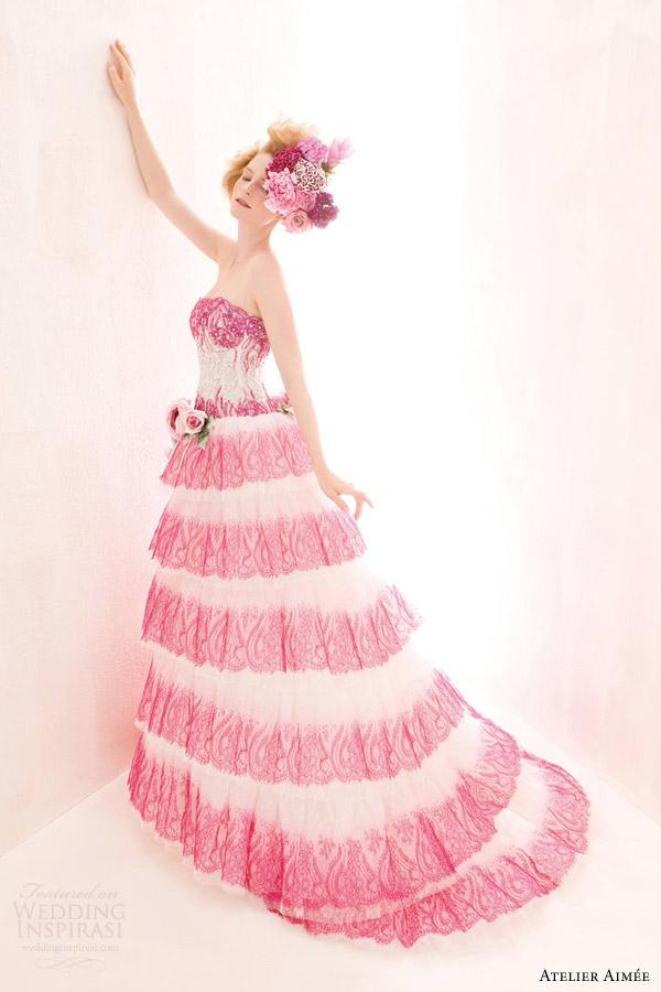 Atelier Aim E 2014 Wedding Dresses Verde Tiffany Bridal