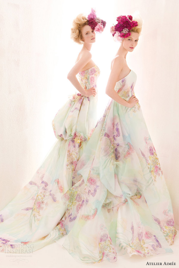 The Hottest 2015 Wedding Dress Trends Part 3 Colors
