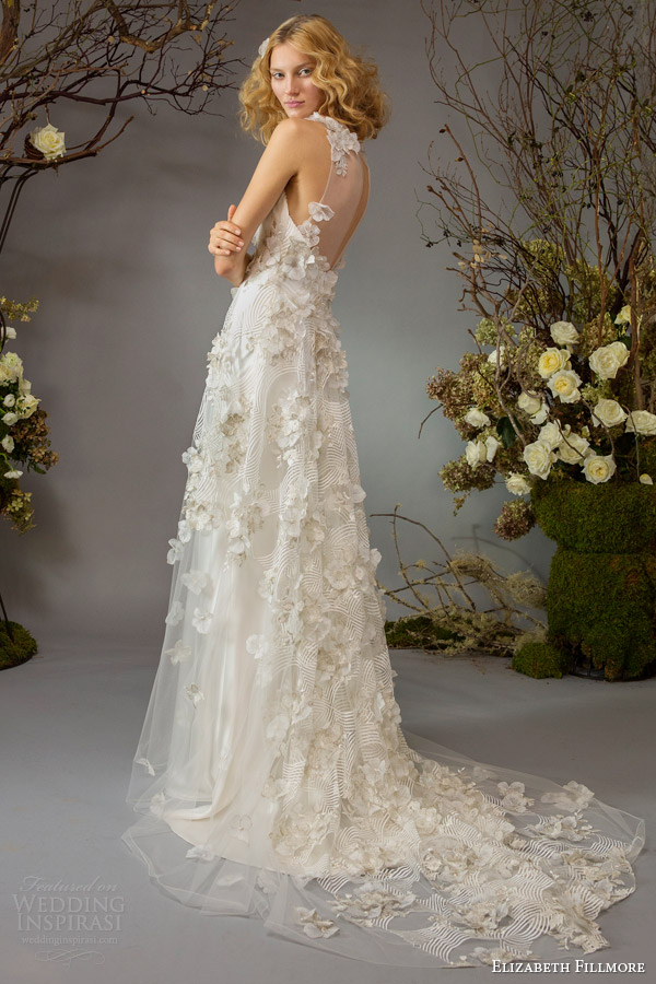 Elizabeth fillmore fall 2014 wedding dresses wedding for Wedding dresses for outside