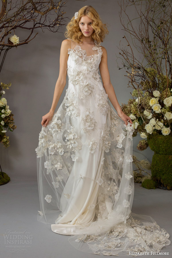 Elizabeth Fillmore Fall 2014 Wedding Dresses Wedding Inspirasi