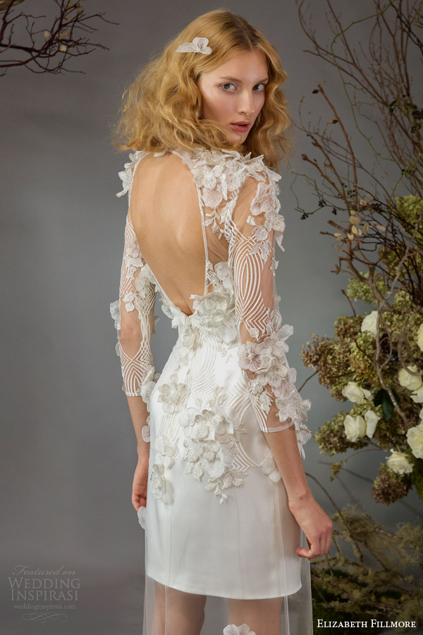 Elizabeth Fillmore Fall 2014 Wedding Dresses Wedding