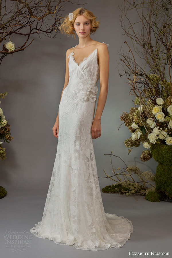 elizabeth fillmore fall 2014 bridal willa wedding dress straps