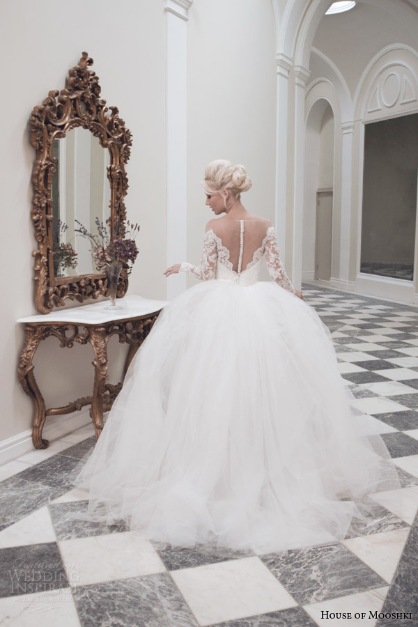 House Of Mooshki Fall 2014 Wedding Dresses Wedding Inspirasi