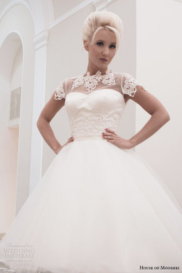 house of mooshki wedding dresses fall 2014 betty tea length gown
