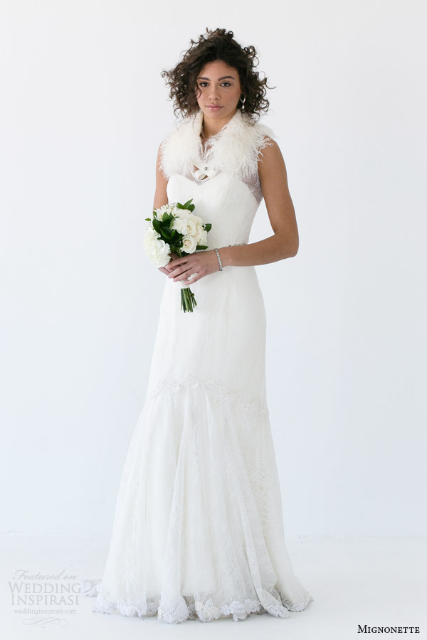 mignonette bridal spring 2014 andrea wedding dress