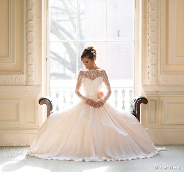 naomi neoh bridal 2014 fleur wedding dress
