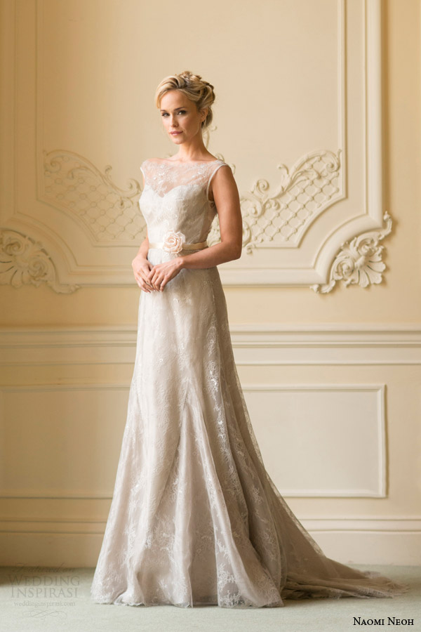 naomi neoh bridal 2014 orchid sleeveless wedding dress