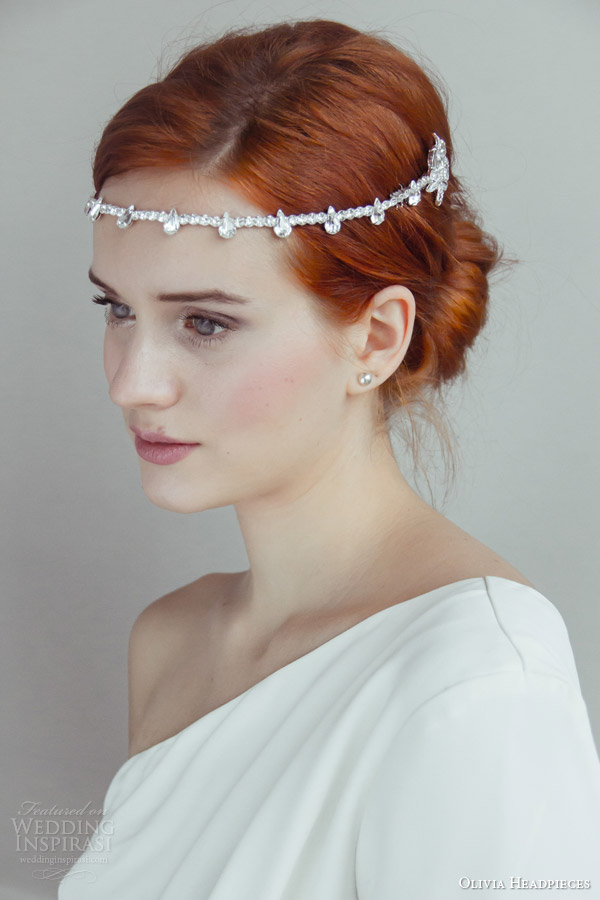 Olivia Headpieces 2014 Bridal Accessories Wedding