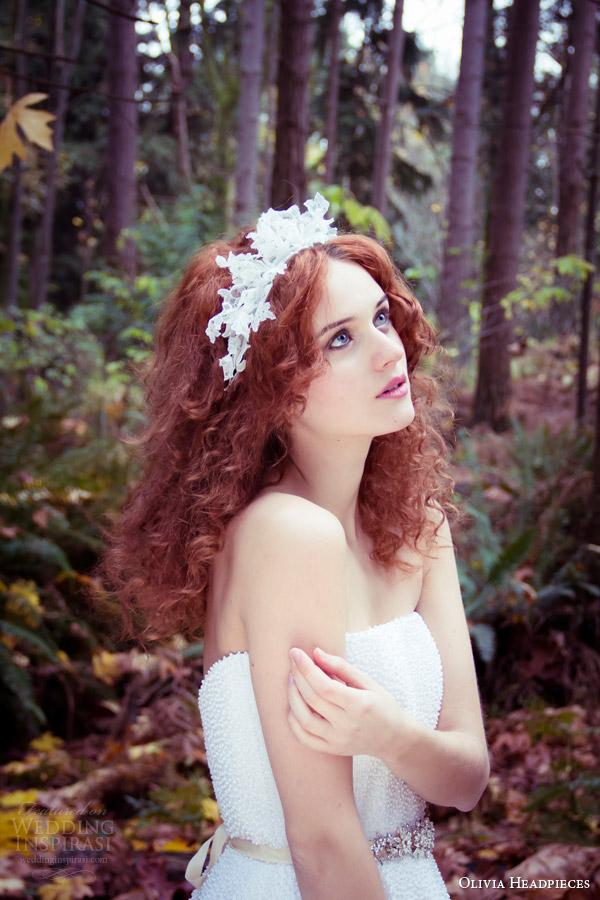 Olivia Headpieces 2014 Bridal Accessories