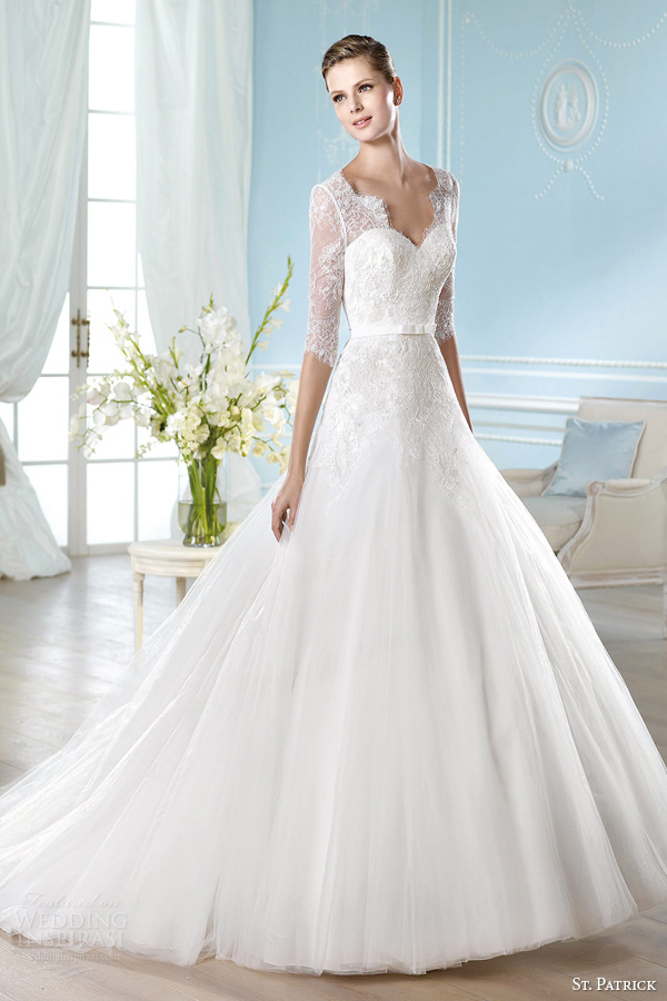 St Patrick 2014 Wedding Dresses Glamour Bridal Collection