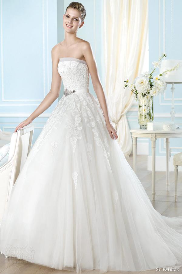 St Patrick 2014 Wedding Dresses Glamour Bridal