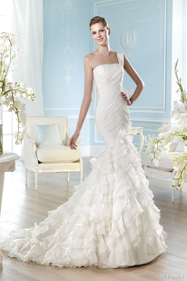 St. Patrick 2014 Wedding Dresses — Glamour Bridal Collection ...