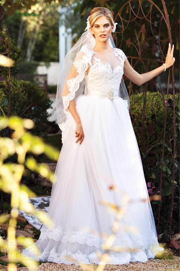 v souz bridal 2014 kate wedding dress vanessa souza