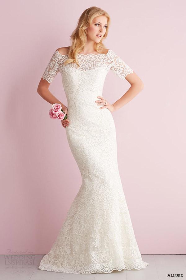Allure romance spring 2014 wedding dresses wedding inspirasi for Allure romance wedding dress