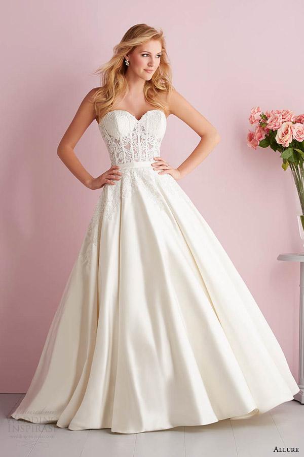 bridals fascínio primavera 2014 fascínio romance strapless vestido estilo 2706