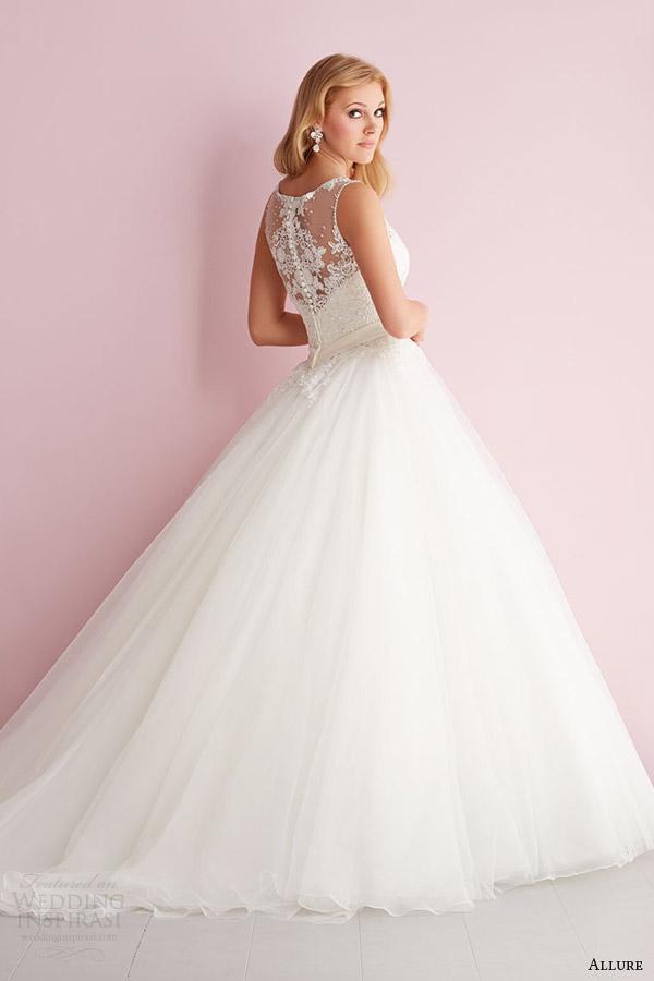 vestido estilo primavera fascínio o romance 2014 de casamento sem mangas 2704 ilusão de volta