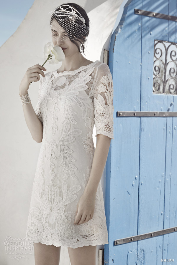 Bhldn spring 2014 wedding dresses wedding inspirasi for Shift dress for a wedding