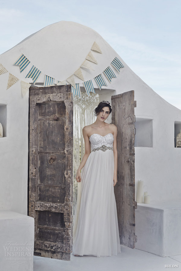 bhldn wedding dresses spring 2014 gemma strapless gown