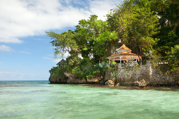 couples resorts jamaica tropical destination weddings view from sea