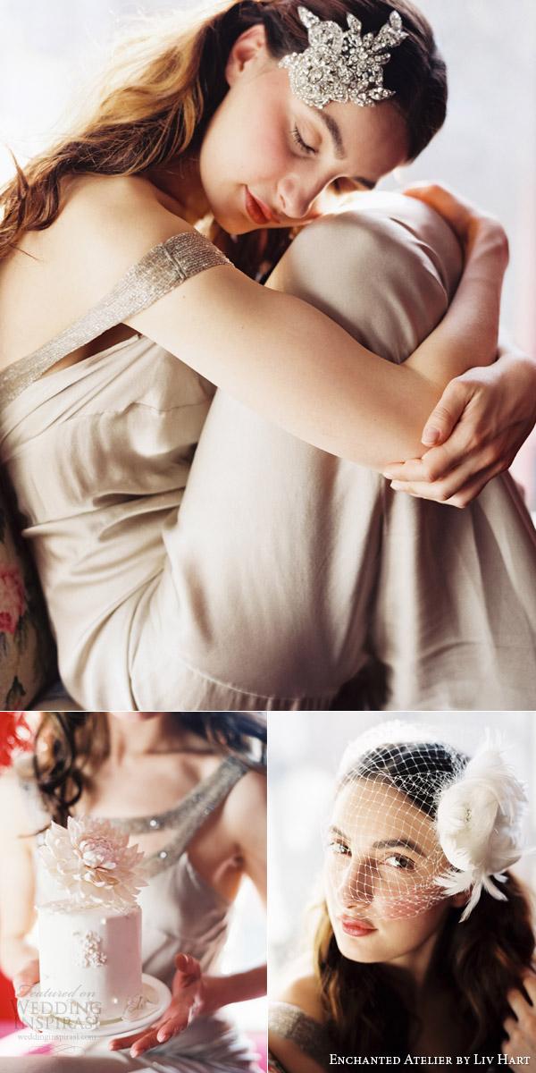 atelier encantado 2015 bridal acessórios capacete véu pente