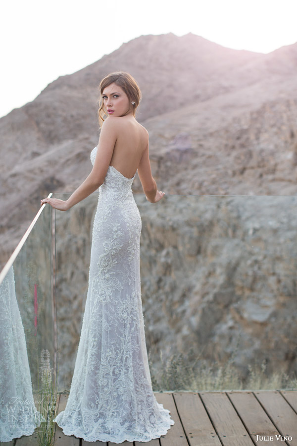 julie vino 2014 2015 orchid collection cindy wedding dress strapless back