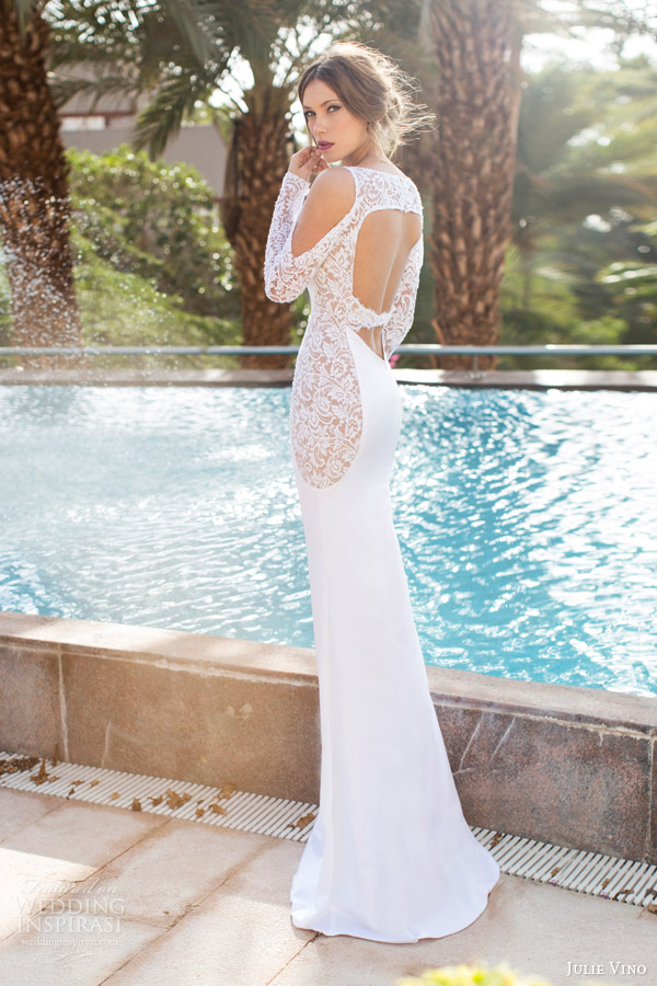 julie vino bridal spring 2014 lilianne wedding dress back keyhole