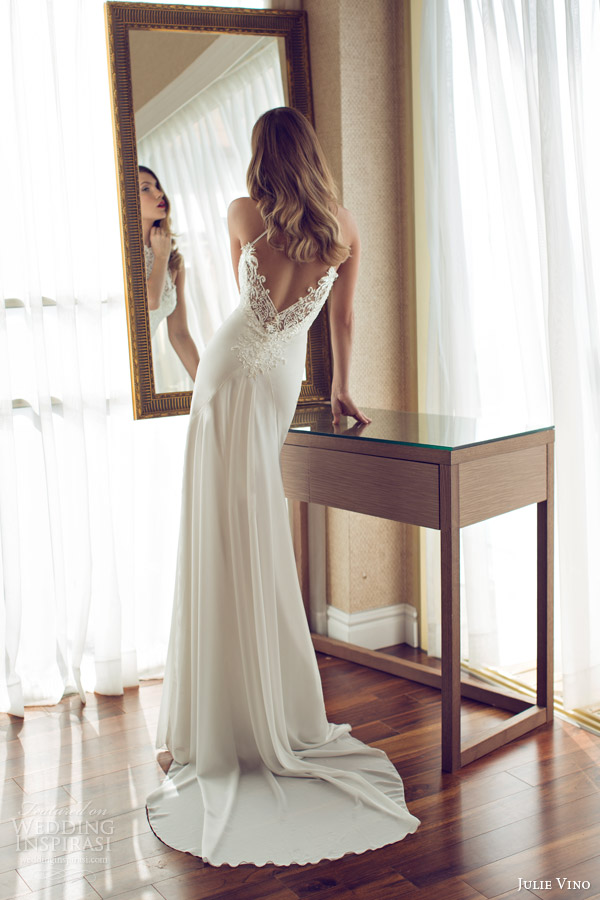 julie vino spring 2014 melanie wedding dress back