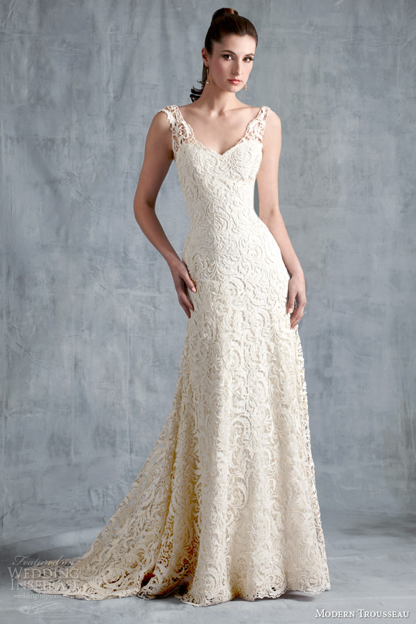 modern trousseau spring 2015 brynn wedding dress