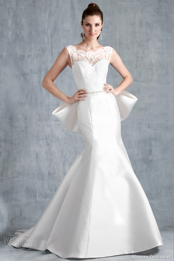 modern trousseau spring 2015 bryton wedding dress