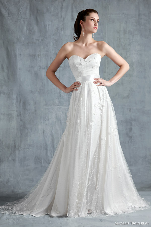 Modern Trousseau Spring 2015 Wedding Dresses Wedding