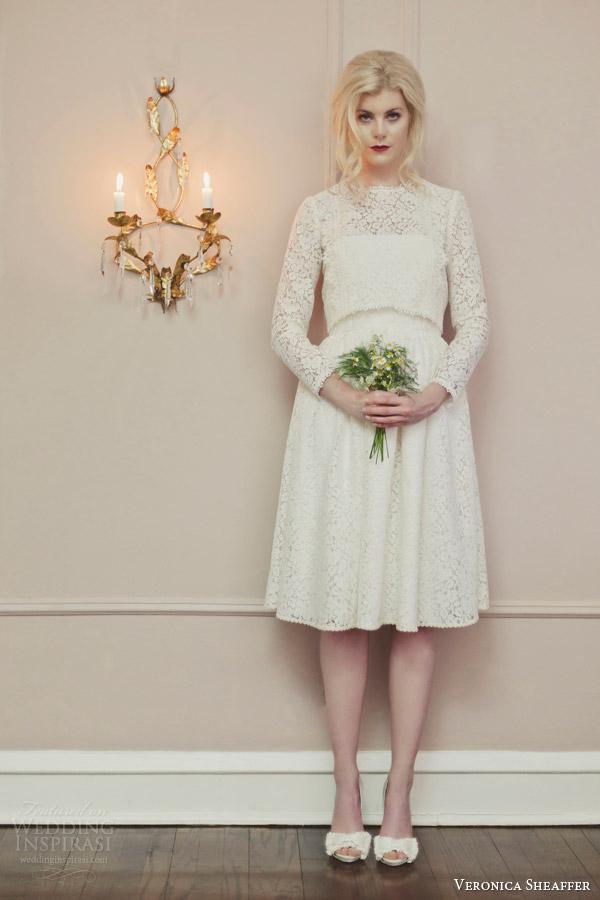 Above The Knee Wedding Dresses 22 Beautiful veronica sheaffer fall chamomile