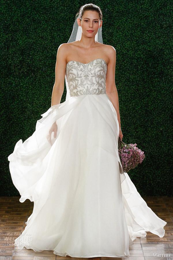 watters noiva primavera 2015 estilo vestido de noiva 6072b daniela