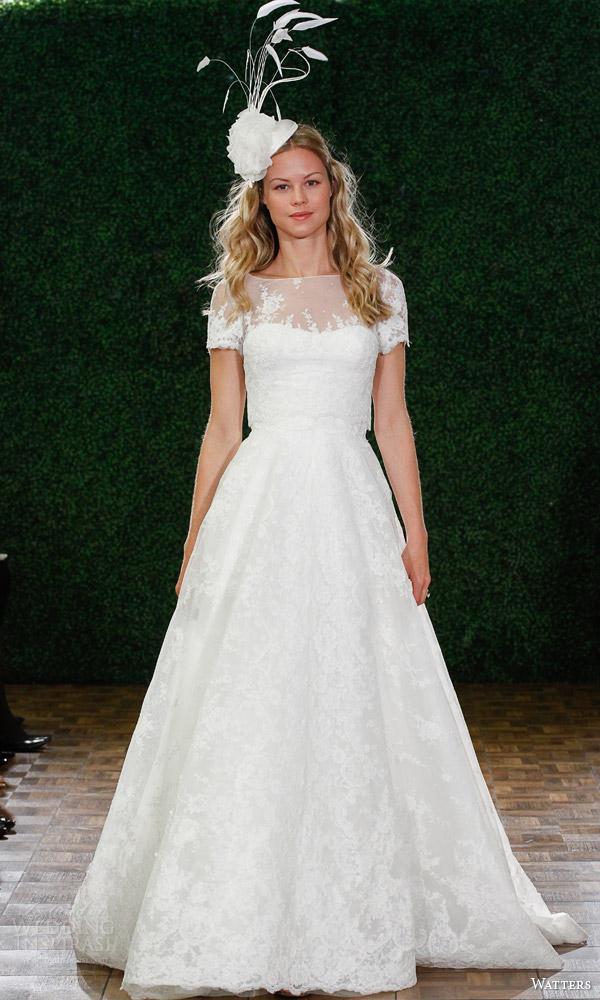 6087b estilo primavera watters vestido de noiva 2015