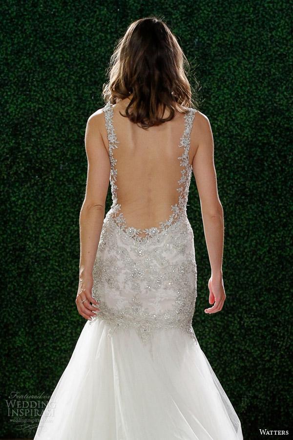 watters primavera 2015 vestido de casamento com estilo tiras 6024b viena volta