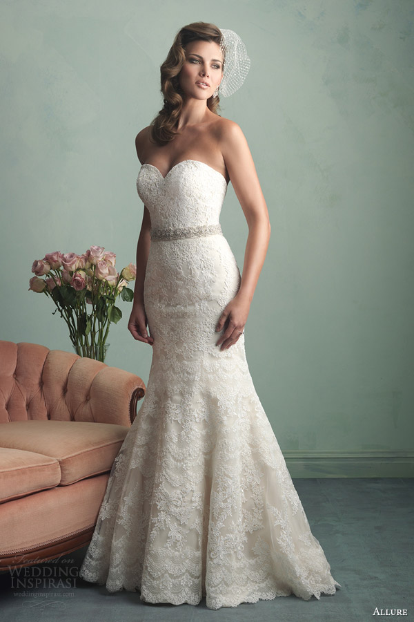 Allure Bridals Fall 2014 Wedding Dresses Wedding Inspirasi