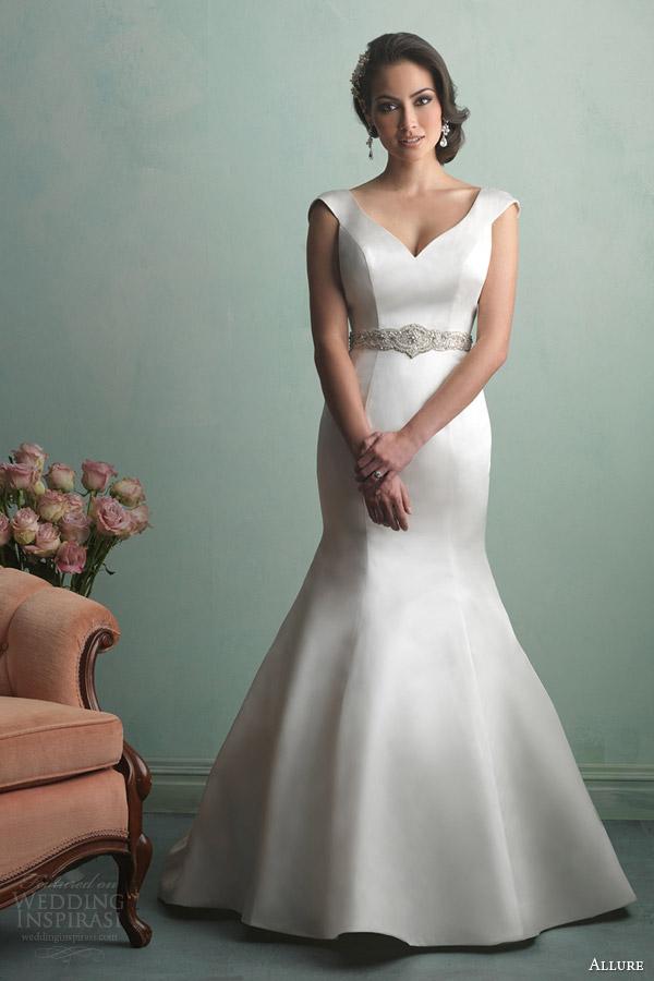 allure bridals fall 2014 wedding dress bridal style 9163