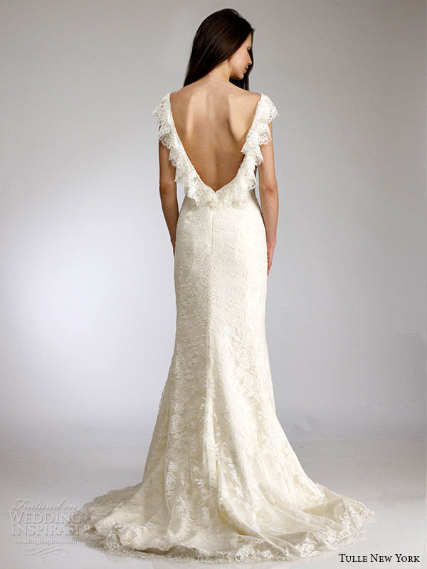 Wedding Dresses For   New York : Gual for tulle new york spring wedding dresses koi bridal
