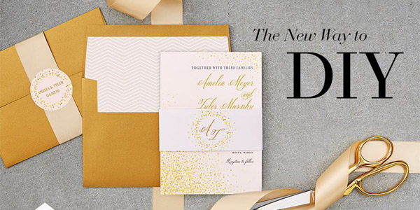 Wedding Paper Divas Foil Stamped Invitations DIY Goodies Sponsor