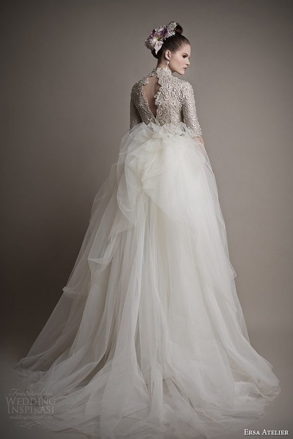 ersa atelier 2015 bridal collection elmina gown sleeves keyhole back