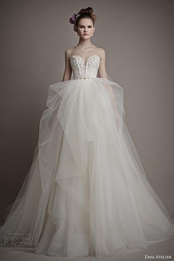 ersa atelier 2015 bridal himiko wedding dress