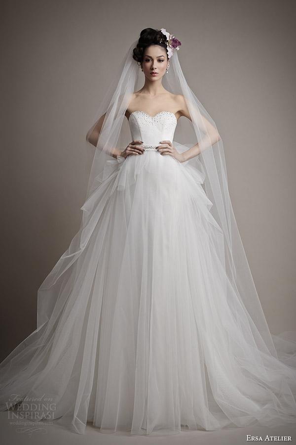 ersa atelier wedding dress 2015 bridal berenice ball gown