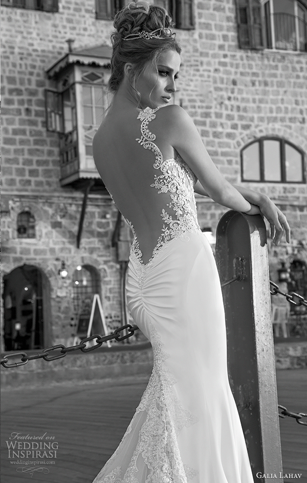galia Lahav 2015 Casamento na primavera vestido antonia vista traseira fechar-se