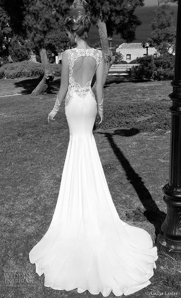 vista galia Lahav 2015 vestido de noiva de Volta alora