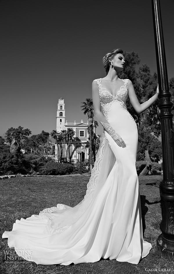 vista galia Lahav 2015 vestido de noiva Frente alora