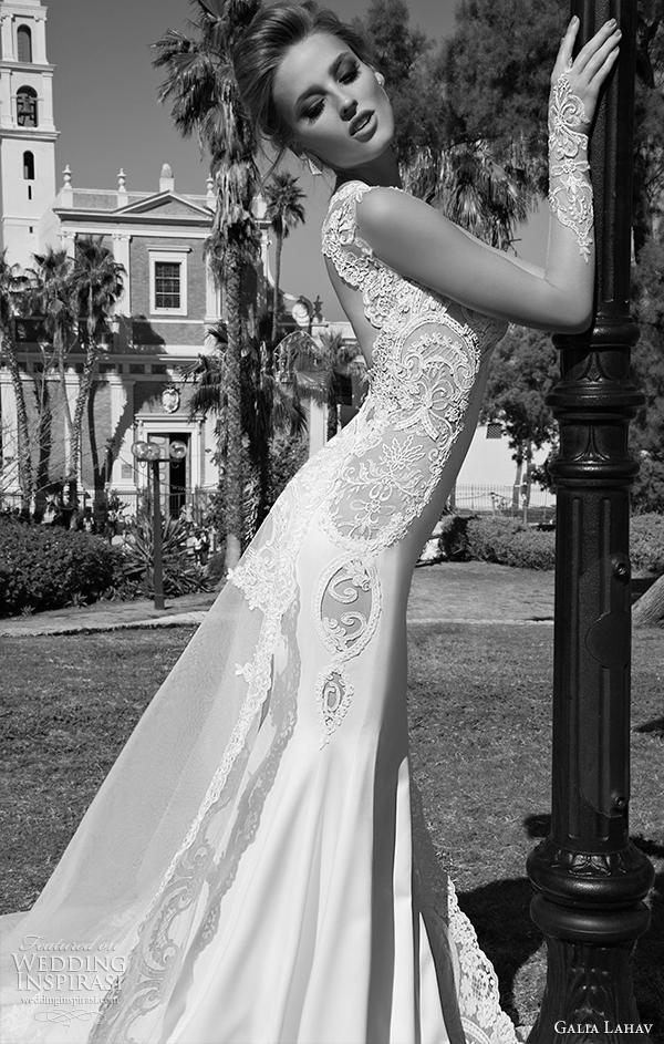 vista galia Lahav Lado alora 2015 vestido de noiva
