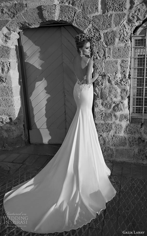 galia Lahav Noiva primavera 2015 vista vestido de noiva corso de Volta