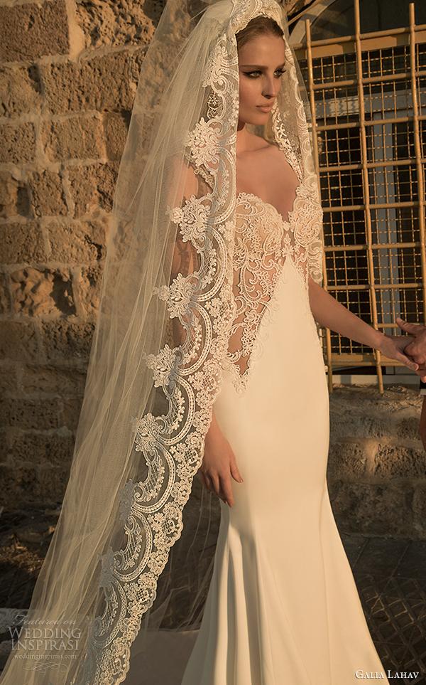galia Lahav Noiva primavera 2015 vestido de noiva cor-de-corso